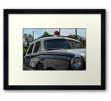 Old School Popo Framed Print