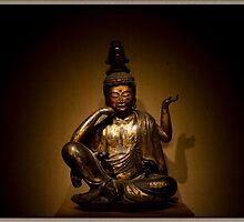 Buddha Statue at ArtIC by Pratik Agrawal