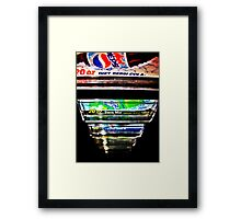 Soda Framed Print