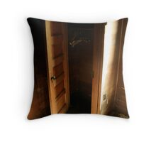 Dont Hide In The Closet Throw Pillow
