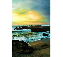 Rocky Sunset Photographic Print