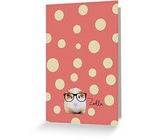 Zoella Guinea Pig - Zoe Sugg Greeting Card