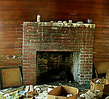 That Ol Fireplace by Taylor Jury