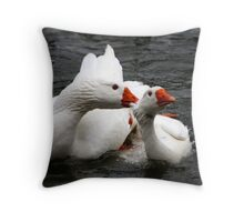 The End of Mating Throw Pillow