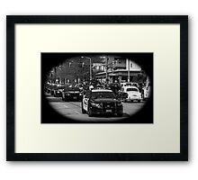 Parade Session Framed Print