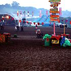 Dawn of a New Glasto Day by Allison Lane