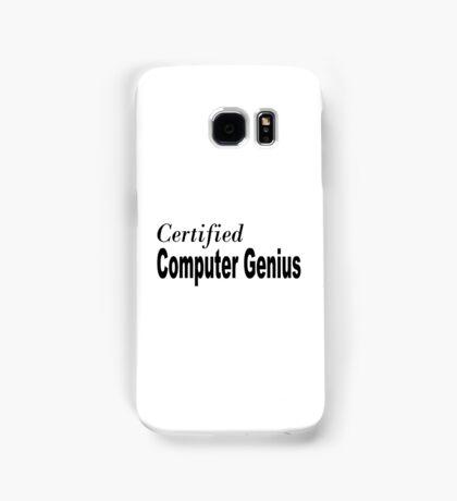 Computer Genius Samsung Galaxy Case/Skin