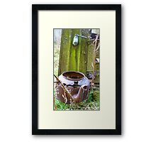 Any one for a cuppa! - Southland - New Zealand Framed Print