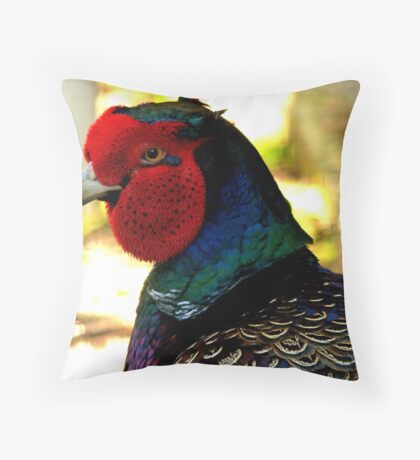 Do you mind! NZ - Phesant - Invercargill Throw Pillow