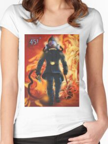 Fahrenheit 451 Women's Fitted Scoop T-Shirt