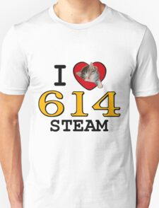 I LUV CHESAPEAKE & OHIO STEAM #614 T-Shirt