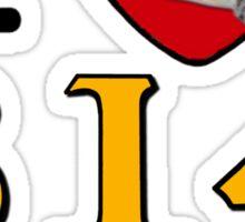 I LUV CHESAPEAKE & OHIO STEAM #614 Sticker