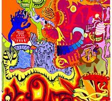 The Skeleton Clown by JasonBrown