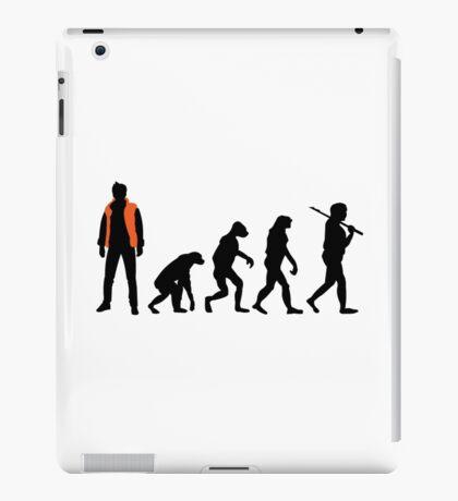 Back to the future past future past iPad Case/Skin