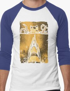 Sand Jaws Men's Baseball ¾ T-Shirt