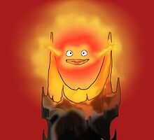 Calcifer is Sauron ! by Rhinauthorinks