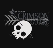 I'm with the CRIMSON GUARD arrows skull Malazan fanart by jazzydevil