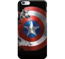 Captain America, Faded shield iPhone Case/Skin