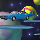 My search for Ebony in space. by Dean Warwick