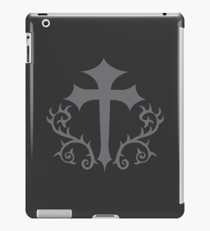 GOTHIC CROSS with thorns iPad Case/Skin
