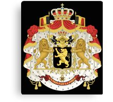 Belgian coat of arms Canvas Print