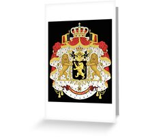 Belgian coat of arms Greeting Card