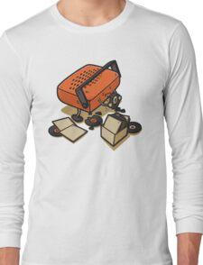 Record Eater Long Sleeve T-Shirt