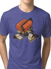 Record Eater Tri-blend T-Shirt