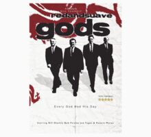 Red and Suave Gods- Bill Shankly, Bob Paisley, Joe Fagan & Ronnie Moran by EvilGravy