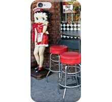 Betty Boop Cafe iPhone Case/Skin