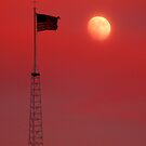 Moon Flag 1 by Jon  Johnson