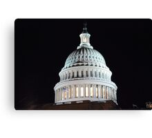The Capital Canvas Print