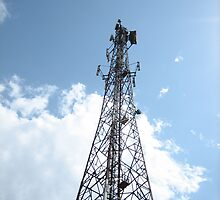 Cellular mobile telecom tower by SheriarIrani