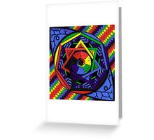 Spectrum of Perception Greeting Card