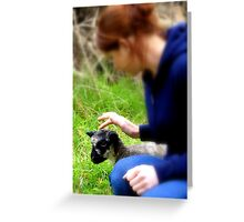 The soft touch! - NZ - Southland Greeting Card