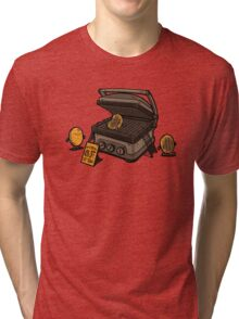 Pancakes Solarium Tri-blend T-Shirt