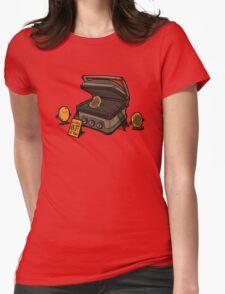 Pancakes Solarium Womens Fitted T-Shirt