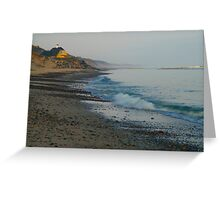 Early morning Skagen Greeting Card