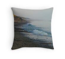 Early morning Skagen Throw Pillow