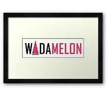 Wadamelon - Beyonce Drunk in Love Framed Print