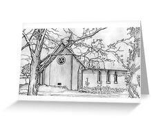All Saints School Chapel Greeting Card