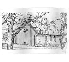 All Saints School Chapel Poster