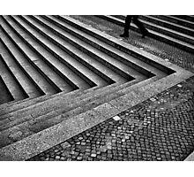 Step Rush Photographic Print