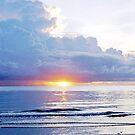 Mission Beach Sunrise by Derek Kentwell