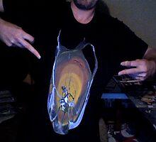 """Shane Huckaby T-Shirt Design....""""Splat"""" by atomikboy"""