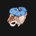 Tiger Flower Crown by Solaihzilla