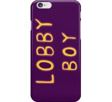 The Grand Budapest Hotel Lobby Boy iPhone Case/Skin