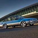 Blue Holden Commodore VL Turbo by John Jovic