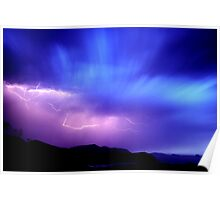 Summer Storm, Wilsons Promontory N.P. Poster