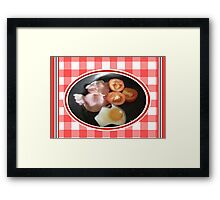Aussie Breakfast Framed Print